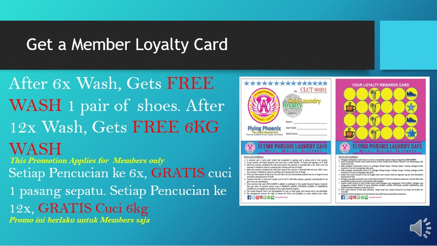Collect your Customer Loyalty Points for More Rewards