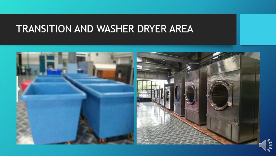 Laundry Transition Rooms