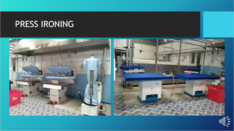 Our Steamed Press Ironing Equipments