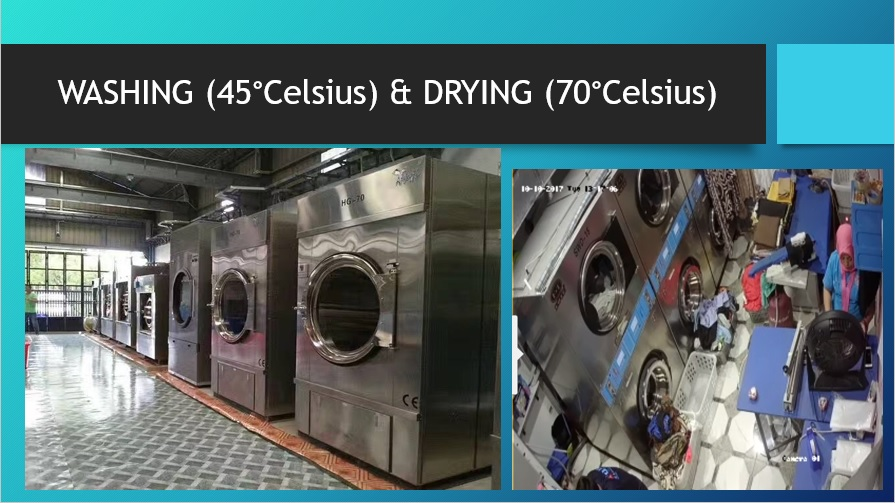 Our Wash and Dry